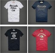 2012 A&F men's T-shirt,  short sleeve